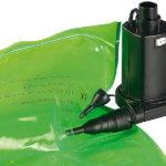 infactory zeigt elektrische Luftpumpe für schnelles Auf- und Abpumpen