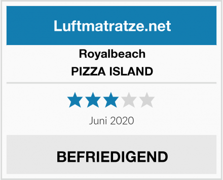 Royalbeach PIZZA ISLAND Test