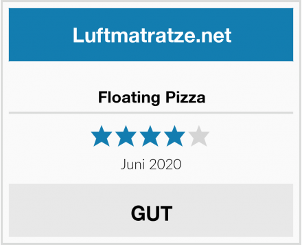 No Name Floating Pizza Test