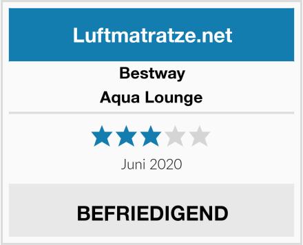 Bestway Aqua Lounge Test