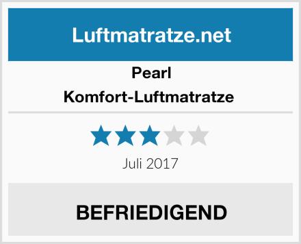 PEARL Komfort-Luftmatratze  Test