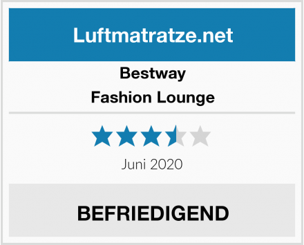 Bestway Fashion Lounge Test