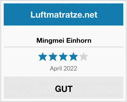 No Name Mingmei Einhorn Test