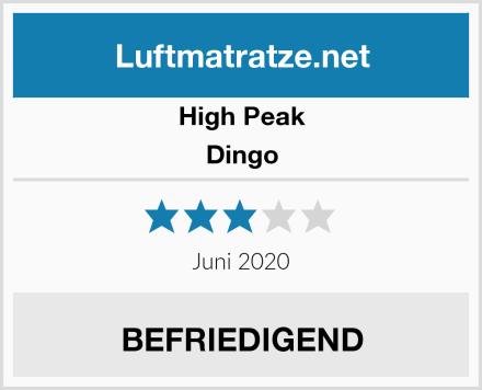 High Peak Dingo Test