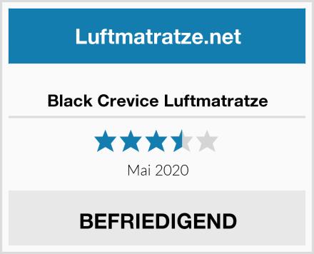 Black Crevice Luftmatratze Test