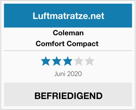 Coleman Comfort Compact  Test