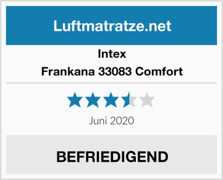 Intex Frankana 33083 Comfort Test