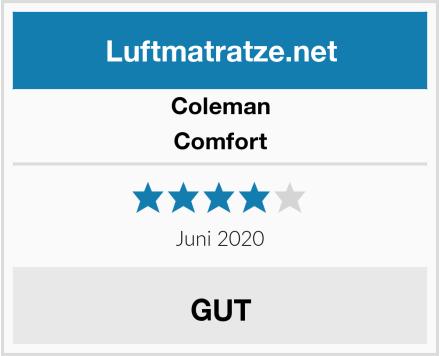 Coleman Comfort Test