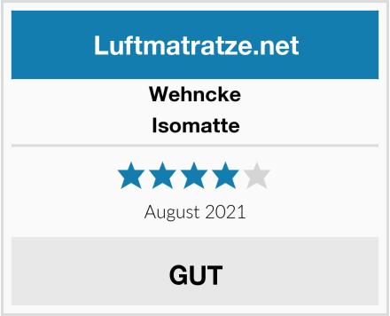 Wehncke Isomatte Test