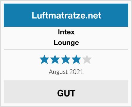 Intex Lounge Test