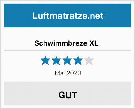 No Name Schwimmbreze XL  Test