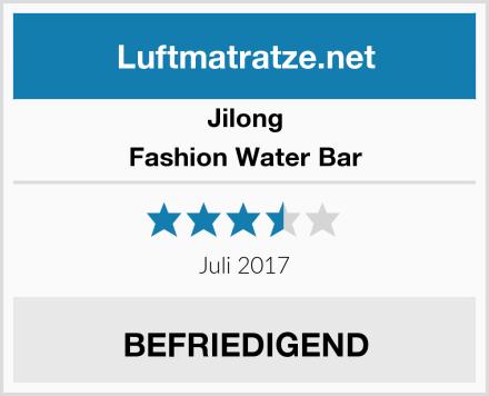 Jilong Fashion Water Bar Test