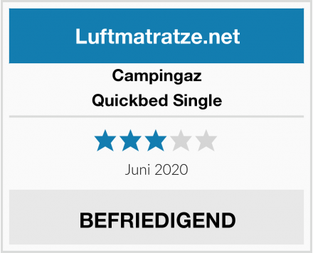 Campingaz Quickbed Single Test