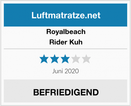 Royalbeach Rider Kuh Test