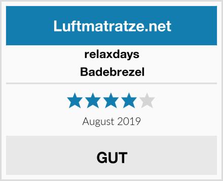 Relaxdays Badebrezel Test