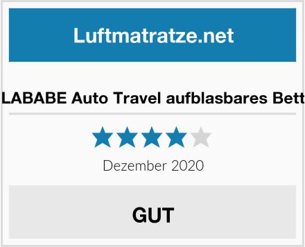 LABABE Auto Travel aufblasbares Bett Test