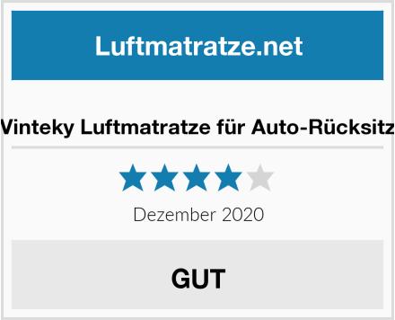 Vinteky Luftmatratze für Auto-Rücksitz Test