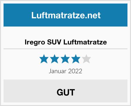 Iregro SUV Luftmatratze Test