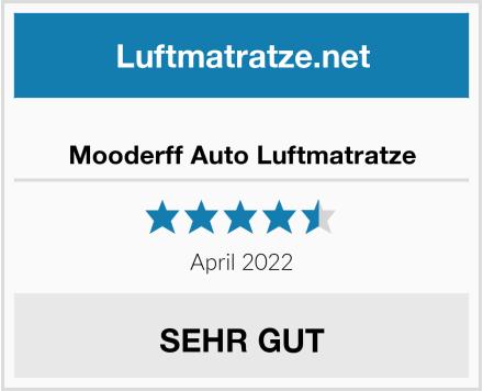 Mooderff Auto Luftmatratze Test