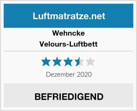 Wehncke Velours-Luftbett Test
