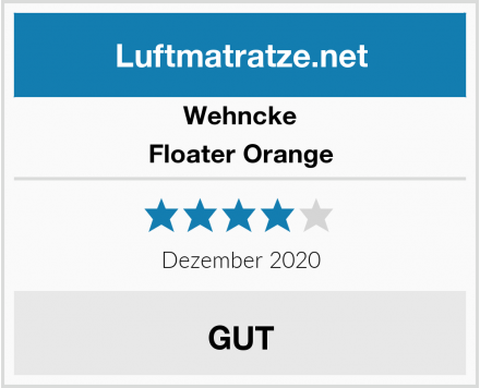 Wehncke Floater Orange Test