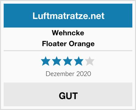 Wehncke Floater Orange Test