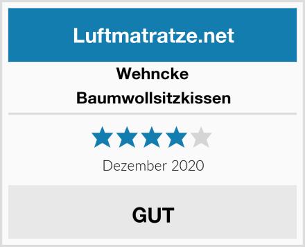 Wehncke Baumwollsitzkissen Test