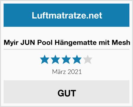 Myir JUN Pool Hängematte mit Mesh Test