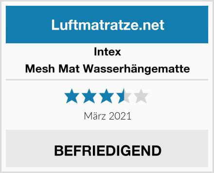 Intex Mesh Mat Wasserhängematte Test