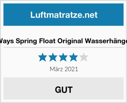 SwimWays Spring Float Original Wasserhängematte Test