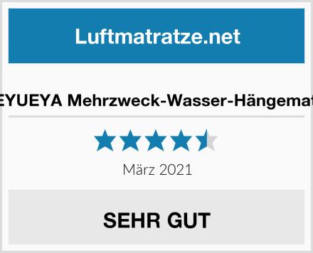 GEYUEYA Mehrzweck-Wasser-Hängematte Test