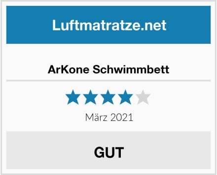 ArKone Schwimmbett Test
