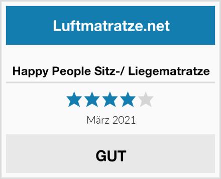 Happy People Sitz-/ Liegematratze Test