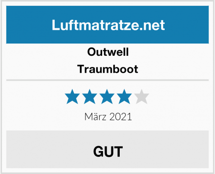 Outwell Traumboot Test