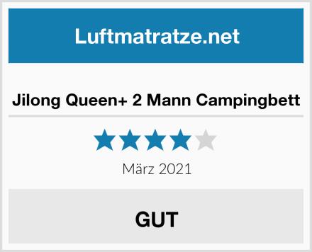 Jilong Queen+ 2 Mann Campingbett Test