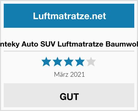 Vinteky Auto SUV Luftmatratze Baumwolle Test