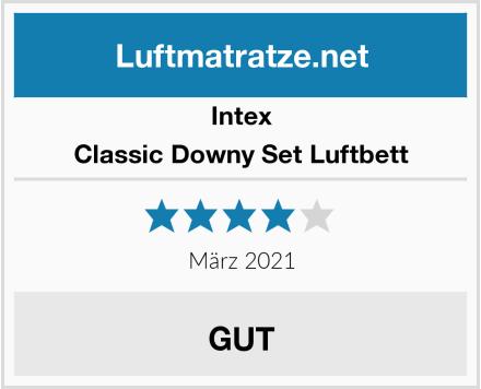 Intex Classic Downy Set Luftbett Test
