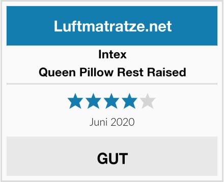 Intex Queen Pillow Rest Raised  Test
