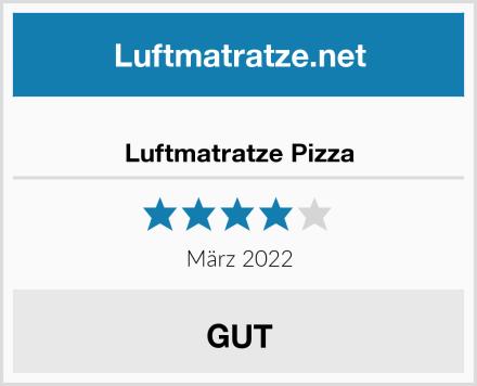 Luftmatratze Pizza Test